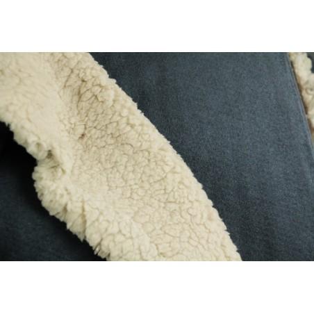 tissu suédine envers mouton