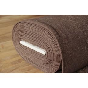 tissu sweat marron paillettes dorées