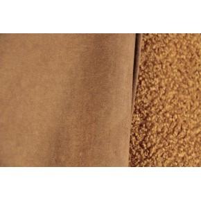 tissu bouclette envers suédine