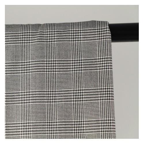 tissu prince de galles noir et blanc
