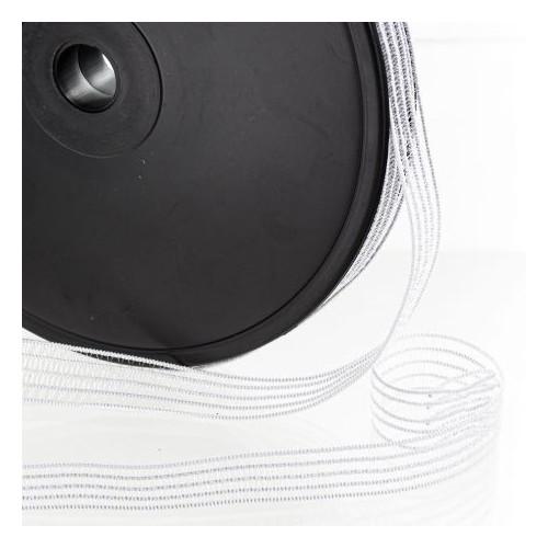 elastique fronceur blanc 13 mm