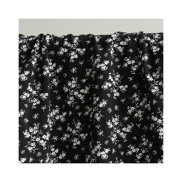 tissu viscose siena noire