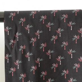 tissu viscose imprimé palmiers