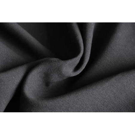 tissu sweat bio noir