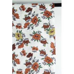 tissu imprimé fleurs