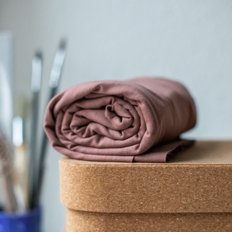 tencel jersey stretch vieux rose - meetmilk