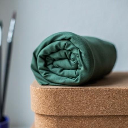 tissu tencel jersey vert mousse - meetmilk