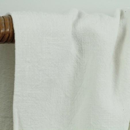 pur lin lavé blanc cassé