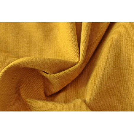 coton biologique moutarde