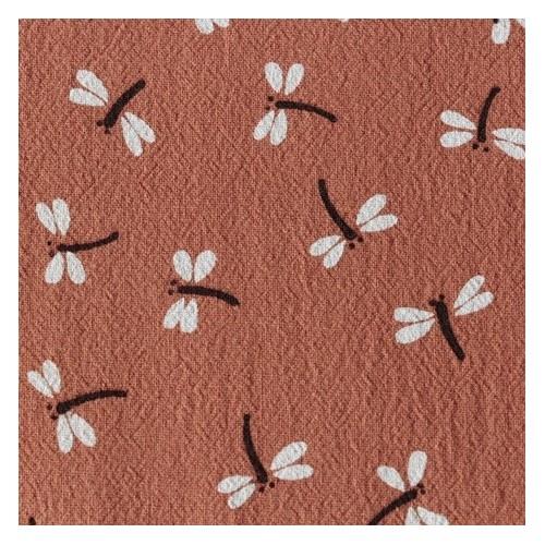 coton lavé libellules