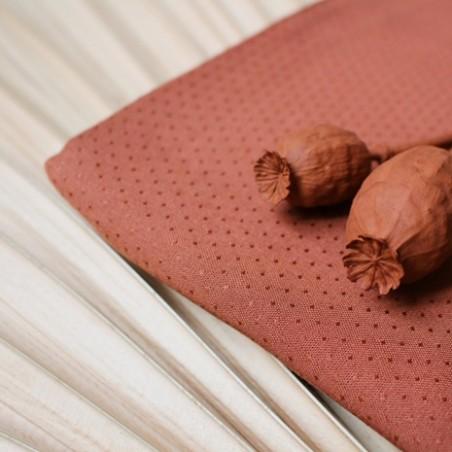 viscose dobby chesnut - atelier brunette