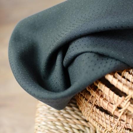 tissu viscose dobby smokey atelier brunette
