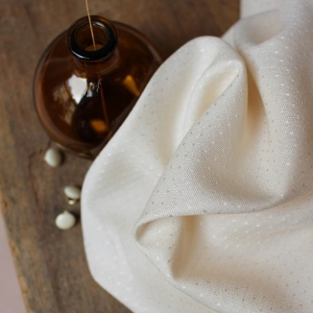 viscose dobby off white - atelier brunette