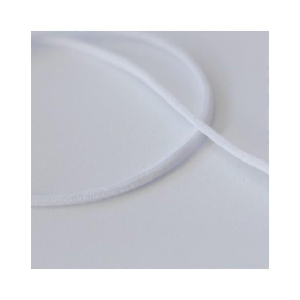 élastique cordon blanc pour masque
