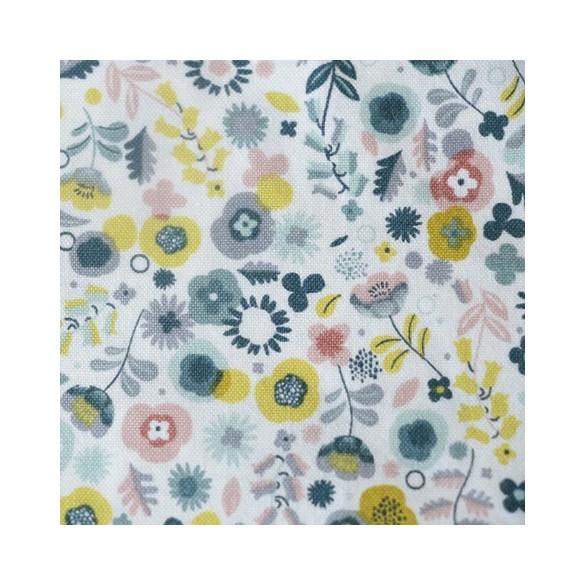 coton imprimé flowers