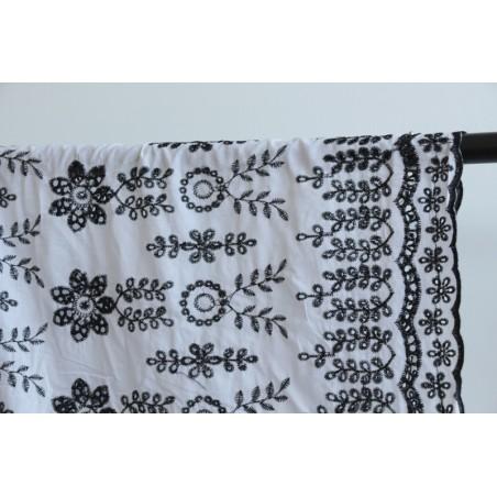 coton porto noir et blanc