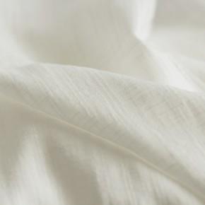 coton et viscose écru