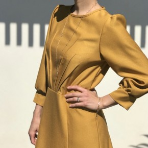 blouse/robe zénith - maison fauve