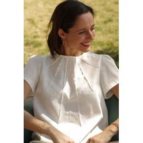 blouse zénith - maison fauve
