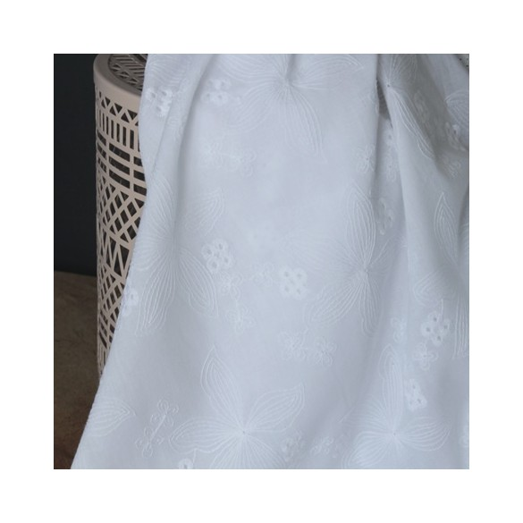 broderie anglaise blanche - clémence