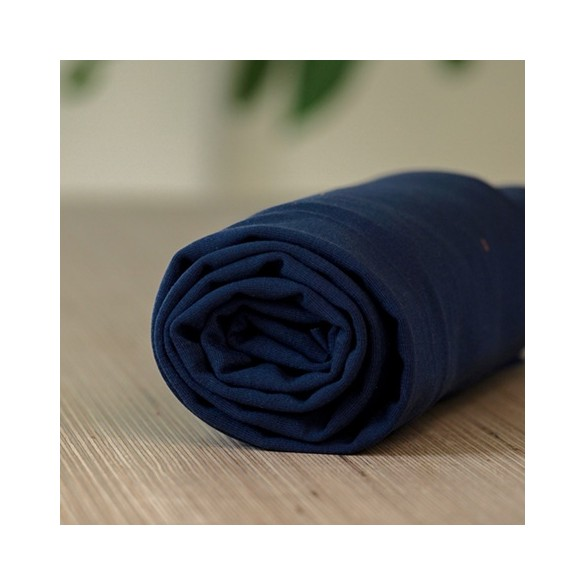 tencel jersey stretch - blueberry