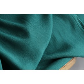 tissu crêpe vert prairie