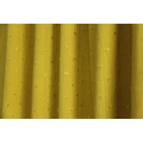 crepon plumetis ocre