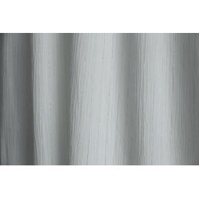 crépon viscose rayures lurex argent