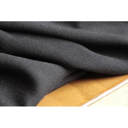 tissu viscose stretch noire