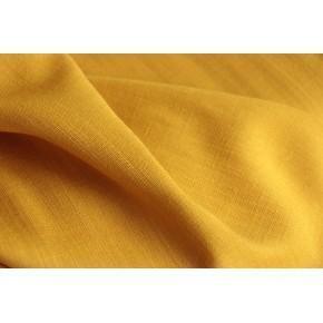tissu viscose jaune ocre