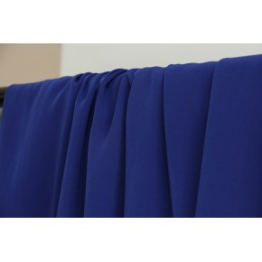 tissu crêpe bleu royal