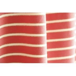 maille marinière rose et lurex doré