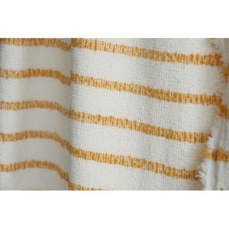 maille marinière jaune/blanc