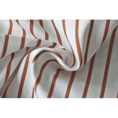 tissu stretch à rayures