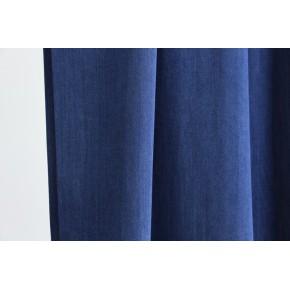tissu viscose bleu brut denim