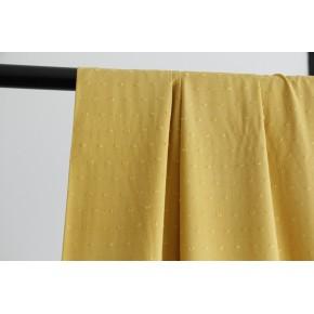 viscose plumetis jaune