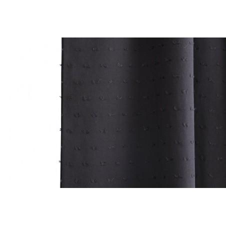 viscose plumetis noir