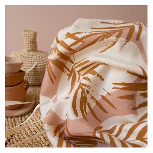 crêpe de viscose canopy ochre - atelier brunette