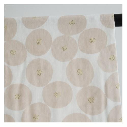 tissu double gaze mini anpan rose