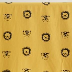 coton bio happy friends - moutarde