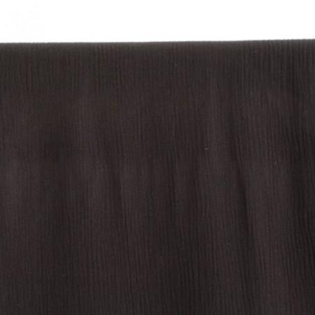 tissu crépon de viscose noir
