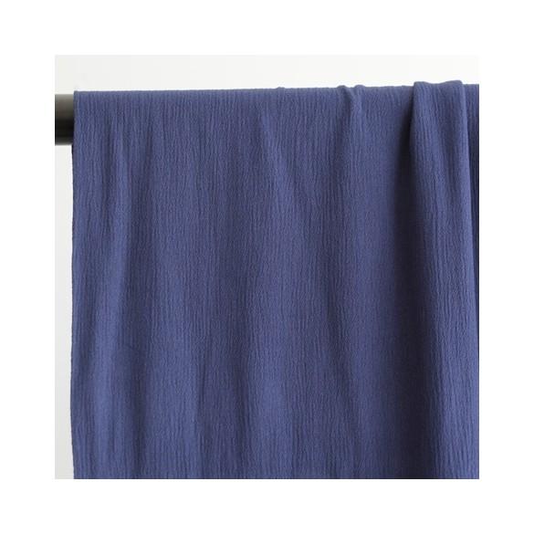 crepon bleu nuit