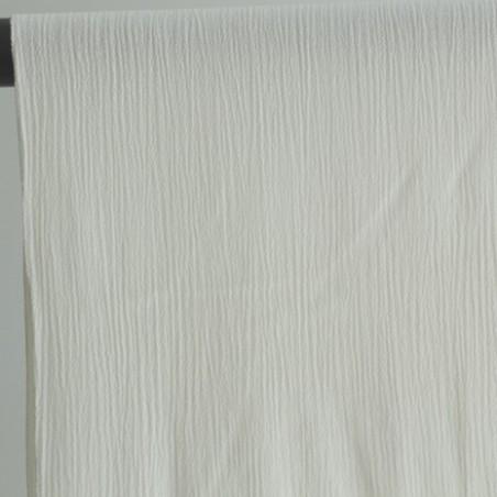 crépon blanc cassé