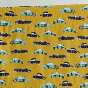 cool cars - coton imprimé