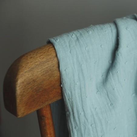 plumetis bleu