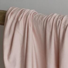 tissu modal rose pâle