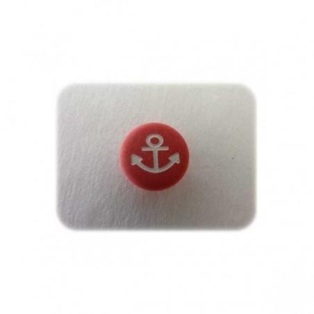 Encre bateau rouge