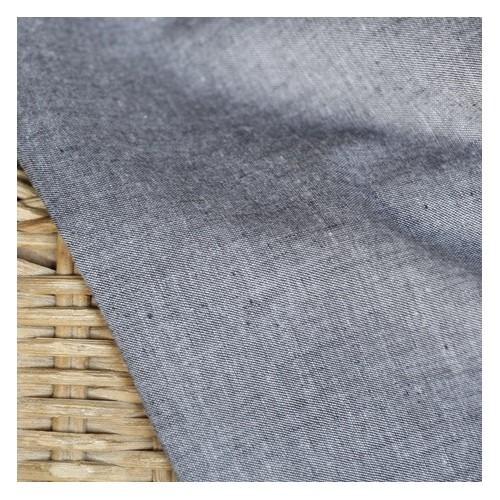 TISSU EN coton gris oekotex