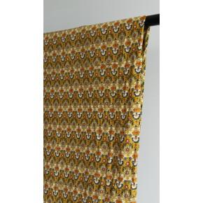 coton velours milleraies moutarde