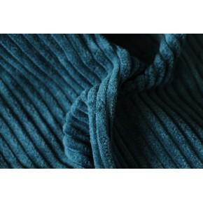 tissu velours grosses côtes vert emeraude